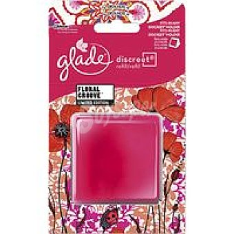 Glade Brise Ambientador Discreet Electrico Floral Groove recambio 1 unidad (8gr)
