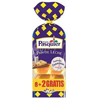 PASQUIER Pan de leche 8 unidades