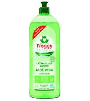 Froggy Vajillas mano concentrado aloe vera 750 ml