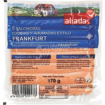 Aliada Salchichas frankfurt Envase 170 g