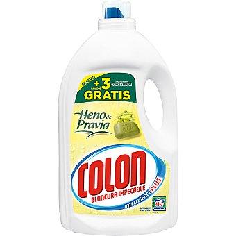 Colón detergente máquina líquido gel heno de pravia concentrado  botella 44 dosis + 3 gratis