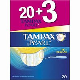 Tampax Tampón super caja 18+3 unidades