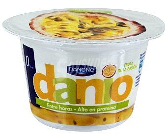Danio Danone Danio Yogur bajo en grasa con fruta de la pasión alto en proteína  envase 150 g