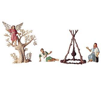 Oliver Escena de la anunciación, compuesta por figuras de 7 centímetros OLIVER.