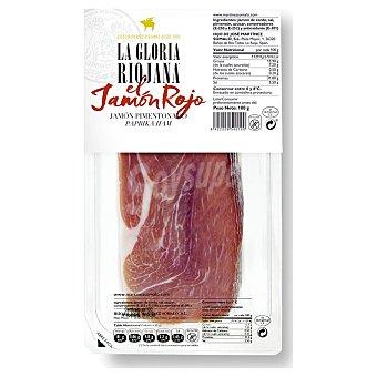 La Gloria Riojana Jamón en lonchas pimentonado 100 g