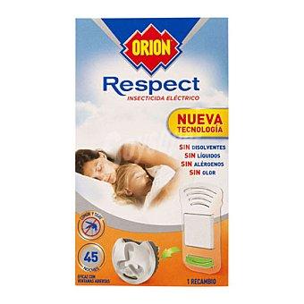 Orion Recambio Insecticida eléctrico Respect sólido para mosquito común y tigre 1 unidad
