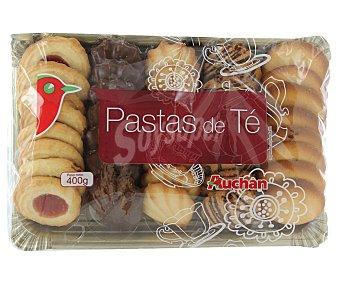 Auchan Pastas de té 400 gramos