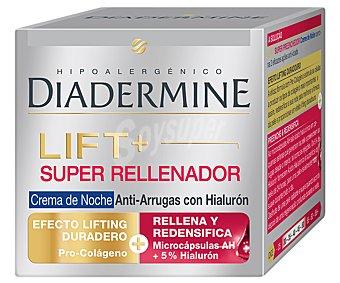 Diadermine Crema de noche anti-arrugas lift y super rellenador Frasco 50 ml