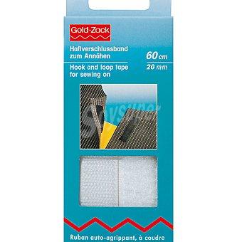 PRYM Velcro para coser en color blanco de 60 cm x 20 mm
