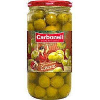 Carbonell Aceitunas de manzanilla aliñada Tarro 400 g