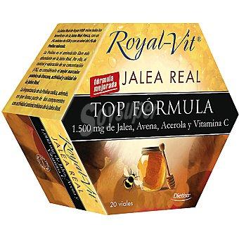 ROYAL-VIT Top-Fórmula Jalea real con avena acerola y vitamina C estuche 20 unidades Estuche 20 unidades