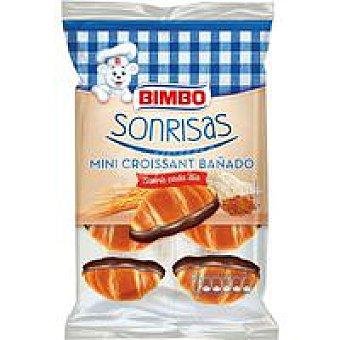 BIMBO Sonrisas Mini croissant bañado Paquete 150 g
