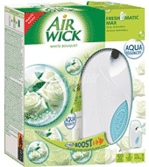 Air Wick Ambientador Automático Aparato Fresh Matic White Bouquet 1 ud