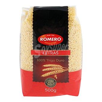 Romero Pasta con forma de letras 500 g