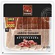 Jamón curado en Extremadura, cortado en lonchas y elaborado sin gluen y sin lactosa 138 g Navidul