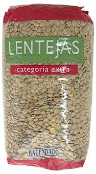 Hacendado Lenteja castellana Paquete 1 kg