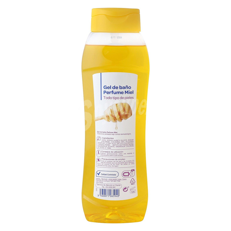 Carrefour Bano.Carrefour Gel De Bano Perfume Miel 1 L