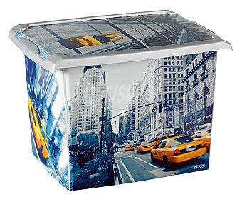 PENGO Caja de ordenación con tapa de 20,5 litros, modelo Fashion Londres 1 Unidad