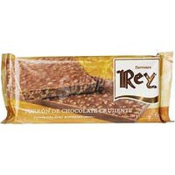 REY Turrón de chocolate crujiente Caja 200 g