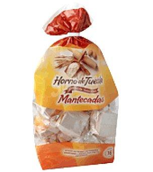 Horno de Tuesta Mantecados con mantequilla 600 g