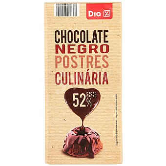 DIA Chocolate gran fondant tableta 200 gr Tableta 200 gr