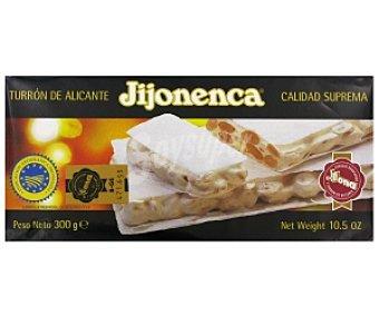 JIJONENCA Turrón duro de Alicante 300 gramos