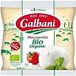 Mozzarella bio Bolsa 125 g Galbani