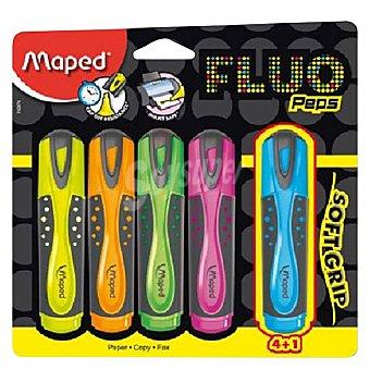 Maped Marcadores Fluorescentes Colores Surtidos 5 ud