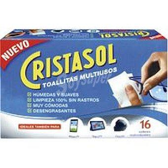 Cristasol Ajax Toallitas multiusos Caja 16 unid