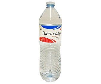 FUENTE ALTA 1,5L Agua Mineral fuente alta Botella de 1,5 Litros 1,5L