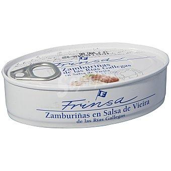 Frinsa Zamburiñas de las rias gallegas en salsa de viera 65 g
