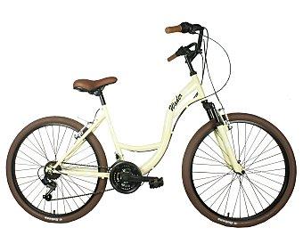 WADER Bicicleta urbana de paseo modelo Retro Bike CTB-26, 26 pulgadas, con suspensión delantera, estilo retro 1 unidad