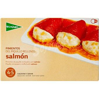 El Corte Inglés Pimientos del piquillo rellenos de salmón Estuche 230 g