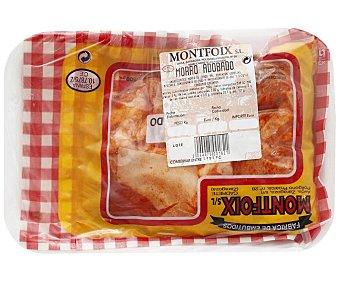 Montfoix Morro de cerdo adobado y envasado al vacio 550 gramos aproximados