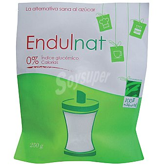EDULNAT Edulcorante natural 0% índice glucémico y sin calorías Envase 250 g