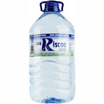 Los Riscos Agua mineral Garrafa 5 litros