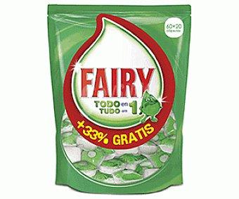 Fairy Lavavajillas 60+ 60+20d