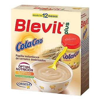 Blevit Papilla plus instantánea de cereales con cola cao Caja 600 g