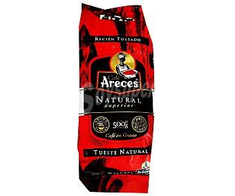 Areces Café en grano natural 500 Gramos