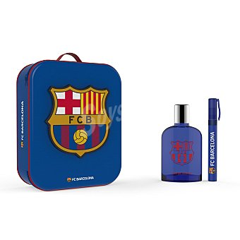 Fc barcelona Neceser (colonia 100 ml. + roll on 10 ml.) 1 ud