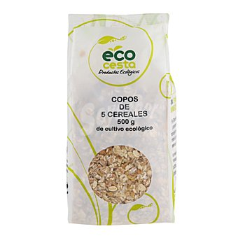 Ecocesta Copos de 5 cereales bio 500 g