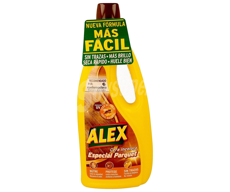 Alex cera barniz para parquet y tarima bote de 750 ml - Cera para parquet ...
