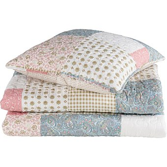CASACTUAL Bouti Patchwork colcha para cama 150 cm