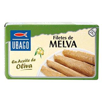 UBAGO filetes de melva de Almadraba en aceite de oliva lata 85 g neto escurrido 85 g