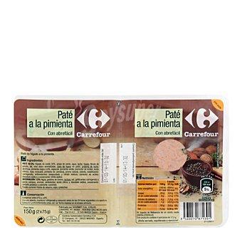 Carrefour Paté a la pimienta verde 150 g