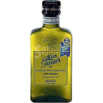 MAS TARRES aceite de oliva virgen extra 100% Arbequina Siurana  botella 500 ml