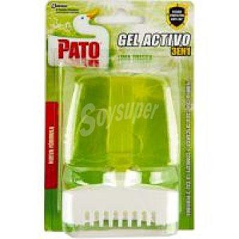 Pato Limpia inodoros gel activo verde pino Pack 1 unid