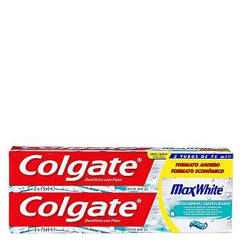 Colgate Max White Dentífrico Max White Tubo Duplo Pack 2x75 ml