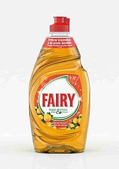 Fairy Lavavajillas mano Fresh Naranja 383 ml