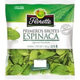 Florette Primeros Brotes de espinaca Bolsa 125 g